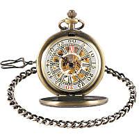 Часы механические карманные Bronze Mechanical Watch, фото 1