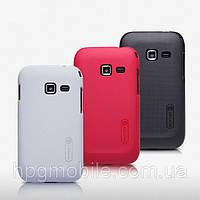 Чехол для Samsung Galaxy Ace Duos S6802 - Nillkin Super Frosted Shield (пленка в комплекте)