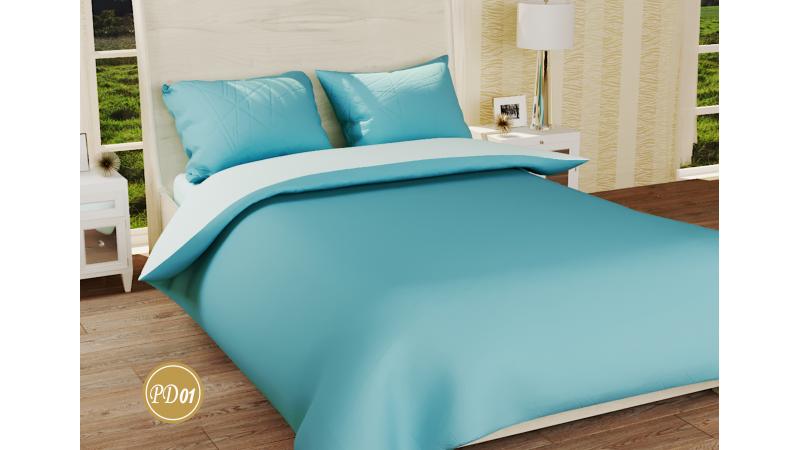 Полуторное постельное белье из ранфорса