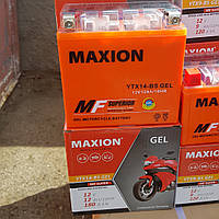 Аккумулятор MOTO YTX 14-BS(GEL) Maxion