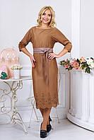 Женское платье из замши, фото 1