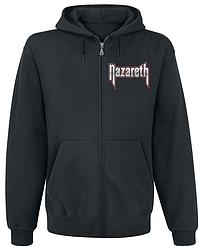 Толстовка с молнией Nazareth - Logo
