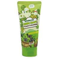 SPARKLING GREEN GRAPE FOAM CLEANSER Пенка для умывания игристый зеленый виноград