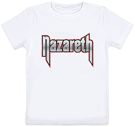 Детская футболка Nazareth - Logo (белая)