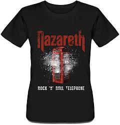 Женская футболка Nazareth - Rock 'n' Roll Telephone