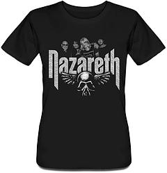 Женская футболка Nazareth - Band Logo