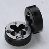 Плашка М-6х0,75(мелкий шаг), фото 3