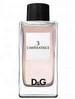 Женская туалетная вода D&G L`Imperatrice 3 (соблазнительный цветочный-свежий аромат) 100 мл