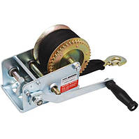 Лебедка ручная барабанная Miol 80-465 900 кг (нейлоновый ремень)