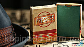 Bicycle Presser Cards