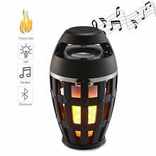 Портативная колонка-ночник Flame Atmosphere Speaker с подсветкой