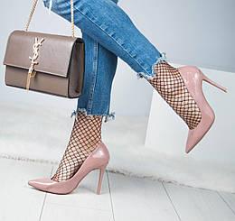Лаковые туфли VIces на шпильке. Размер 37
