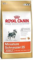 КОРМ ROYAL CANIN (РОЯЛ КАНИН) Schnauzer Adult для собак породы миниатюрный шнауцер  7.5 кг