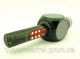 Karaoke Wster WS-1816 LED, микрофон с караоке, черный, фото 3