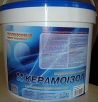 Керамоизол белый теплоизоляционная краска 10л