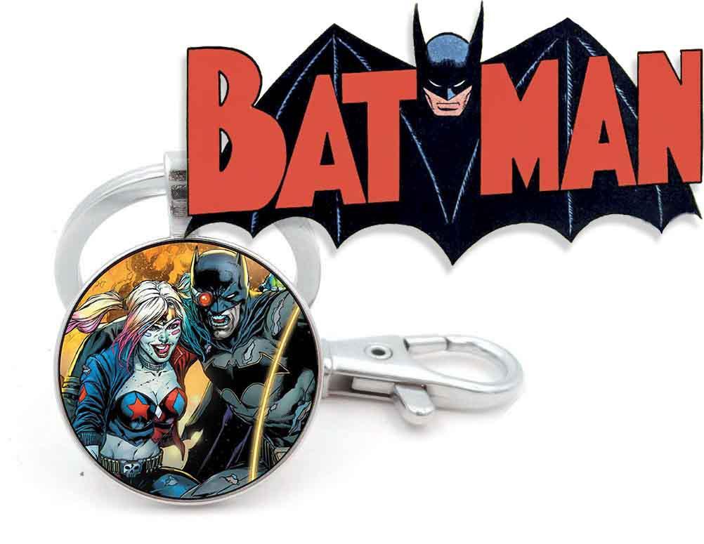 Брелок Харли Квинн и Бэтмена Batman DC комиксы