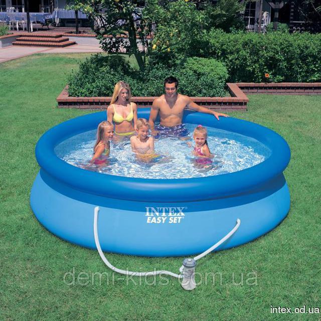Надувной бассейн Intex 28122 (56922) Easy Set Pool (305х76 см.)