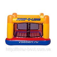 Детский надувной батут Jump-O-Lene Intex 48260 (174х174х112 см.)