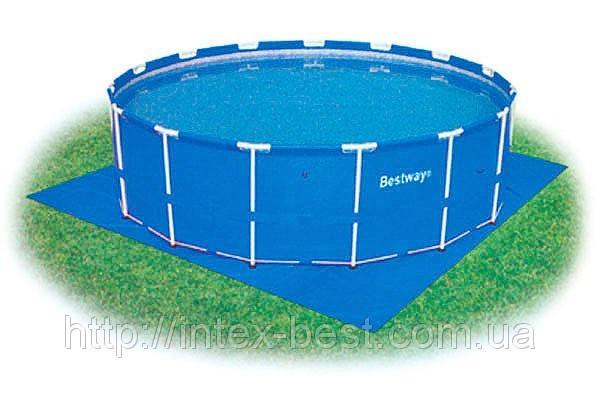 Подстилка под бассейн 58002 (396х396 cм.)