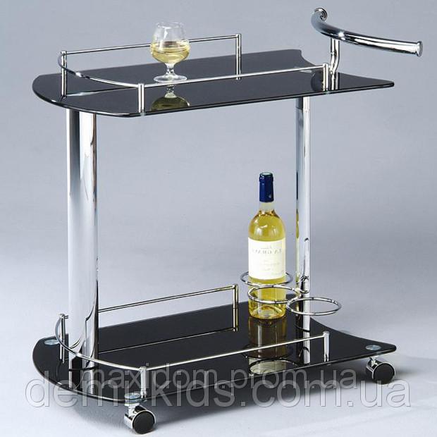 Сервировочный столик SC-5066-BG на колесиках.