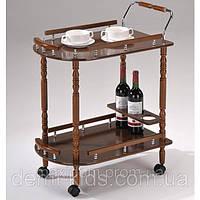 Сервировочный столик W-17 на колесиках.