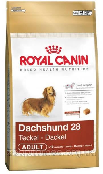 Сухой корм Royal Canin (Роял Канин) DACHSHUND ADULT для собак породы такса, 500 г