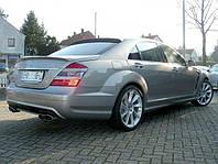 Спойлер сабля тюнинг Mercedes W221 стиль Lorinser
