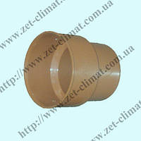 Переход чугун-пластик для наружной канализации 200х126 мм ПВХ