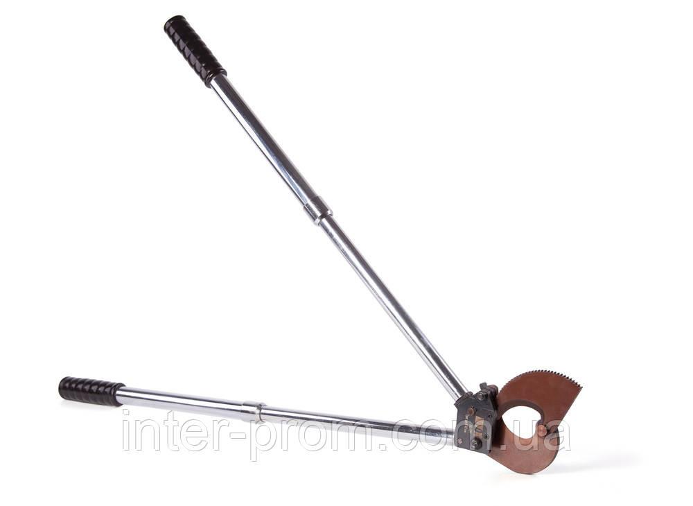 Ножницы секторные НС-33Т ШТОК для резки стального троса диаметром до 33 мм.