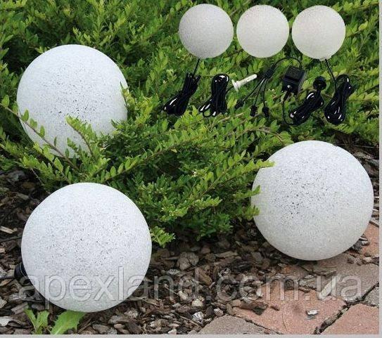 """Светильник для сада """"Звездные шары"""" /  комплект"""