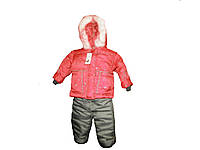 Костюм зимний Снежинка куртка + полукомбинезон 98-104см