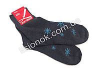 Женские махровые носки, темно-серые, 36-40