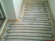 Двужильный экранированный кабель на 15 м2 теплого пола br-im 2300 вт 134,1 м Hemstedt, фото 3