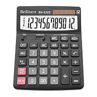 """Калькулятор """"Brilliant"""" 12 разрядный"""