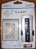 Выключатель Дистанционный Пульт на 3 канала Z-LIGHT ZL0001-3