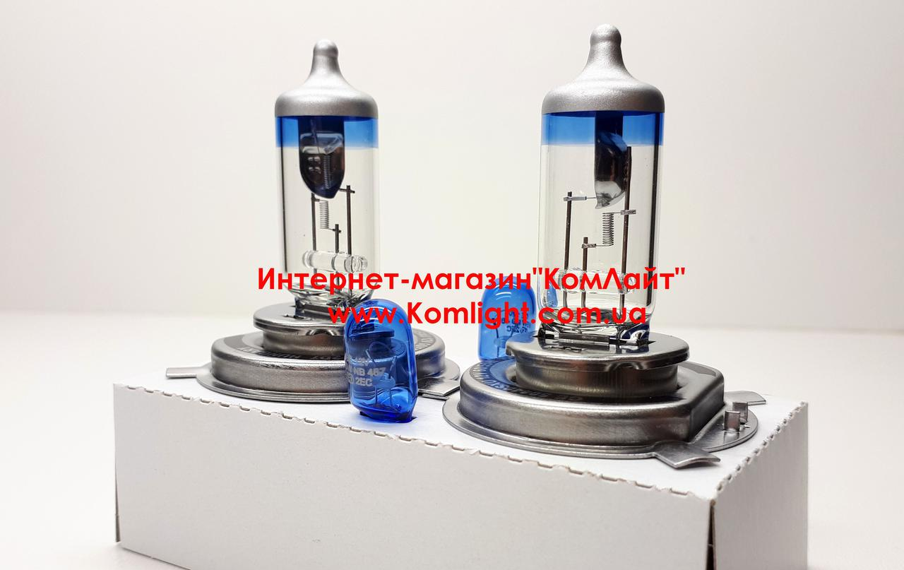 General Electric Megalight Ultra H4+90% +2 лампы W5W-упаковка(Венгрия)