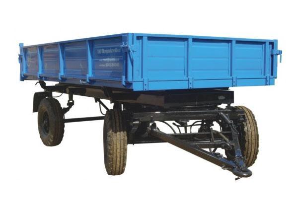Запчасти на тракторный прицеп 2ПТС 4