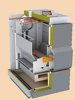 Котел на дровах Vigas 40 кВт (8-41), пиролизный