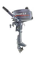 Лодочный мотор Fisher T3.5BMS (3.5 л.с., 2-тактный)