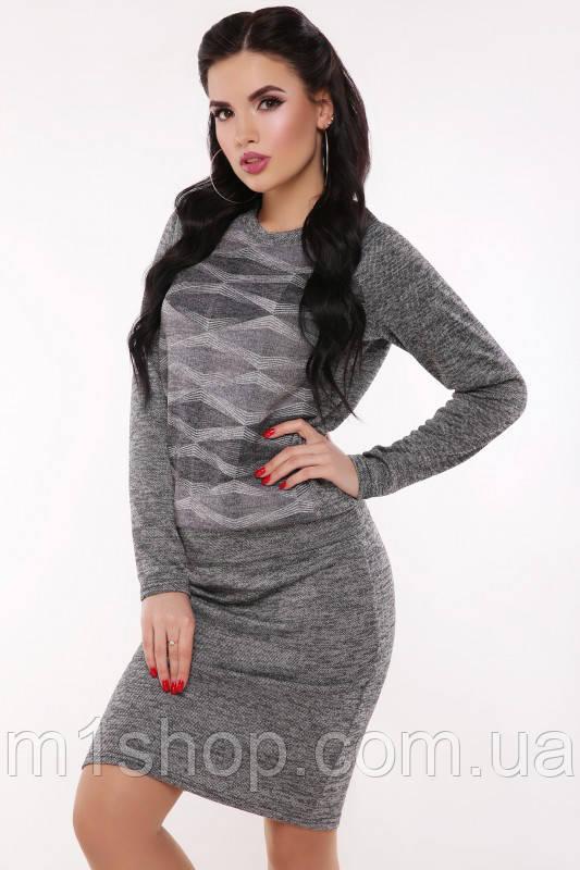 Женский ангоровый костюм юбка и кофта (Melindafup)