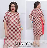 Платье от ТМ Minova большой размер Производитель Украина доставка в Россию  СНГ р. 54- 958ea492d8ff3