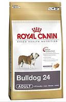 Royal Canin (Роял Канин) BULLDOG ADULT корм для собак породы английский бульдог, 3 кг