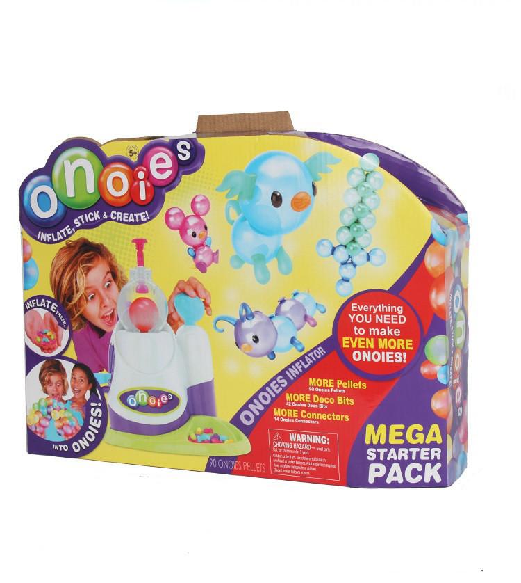 Интерактивная игрушка Oonies Inflator Starter Pack Набор липких воздушных шариков для творчества (SUN0381)