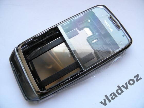 Корпус Nokia E71 чёрный без клавиатуры class AAA