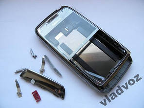 Корпус Nokia E71 чёрный без клавиатуры class AAA, фото 2