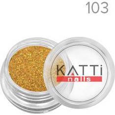 KATTi Блестки в баночке 002 LGS-103 оранж-золото мульти-перелив голографические мелкие