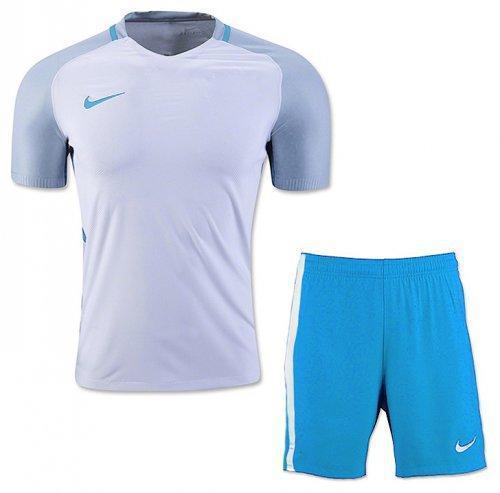 Форма футбольная Trophy White Blue