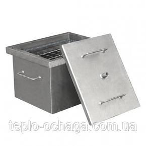 """Коптильня горячего копчения с гидрозатвором """"малая"""", фото 2"""