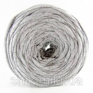 Трикотажная пряжа Pastel XL, цвет Серый меланж
