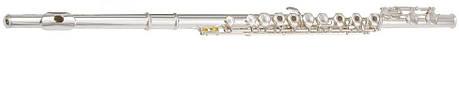 Флейта MAXTONE TFC53S (TFC48S) Клавиши открытые (Французкая система) в линию, фото 2